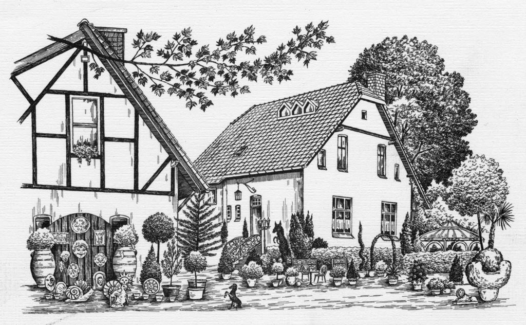 Baumschulen Hülsbusch - Skizze 2
