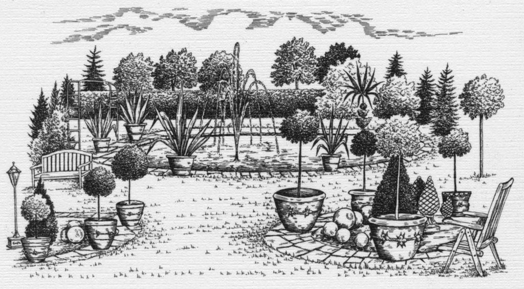 Baumschulen Hülsbusch - Skizze 4